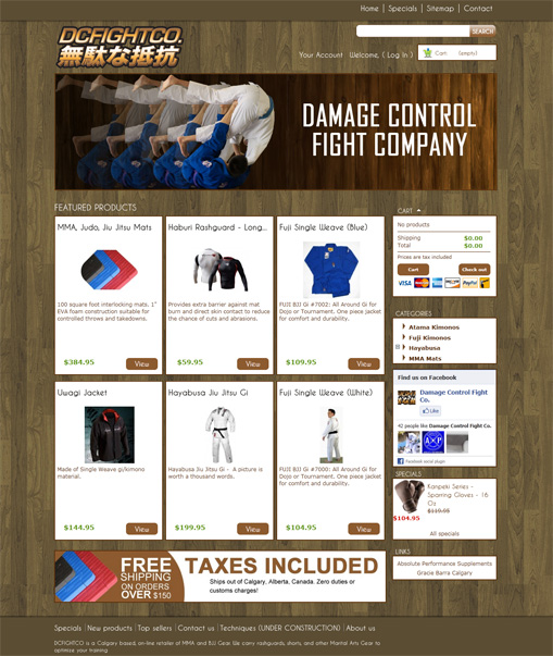 Damage Control Fight Company