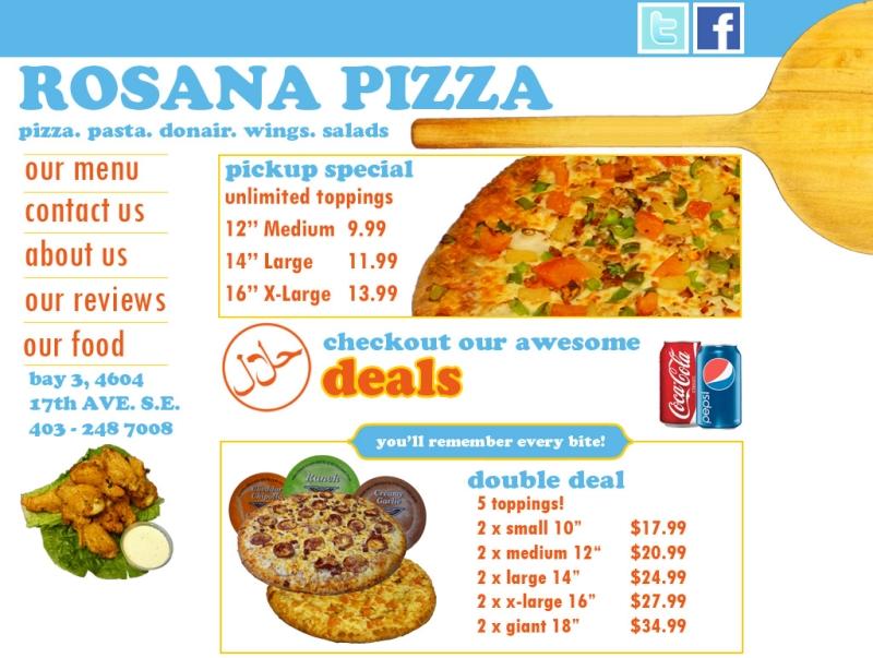 Rosana Pizza